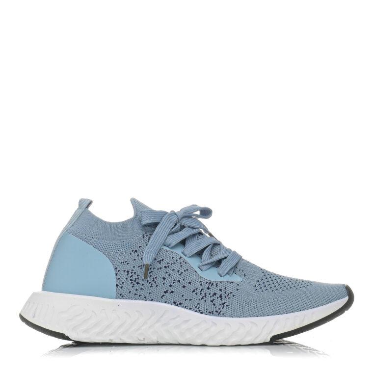 Γαλάζιο αθλητικό παπούτσι από ύφασμα