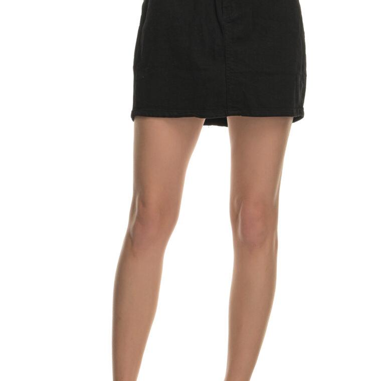 Μαύρη ψηλόμεση φούστα ελαστική