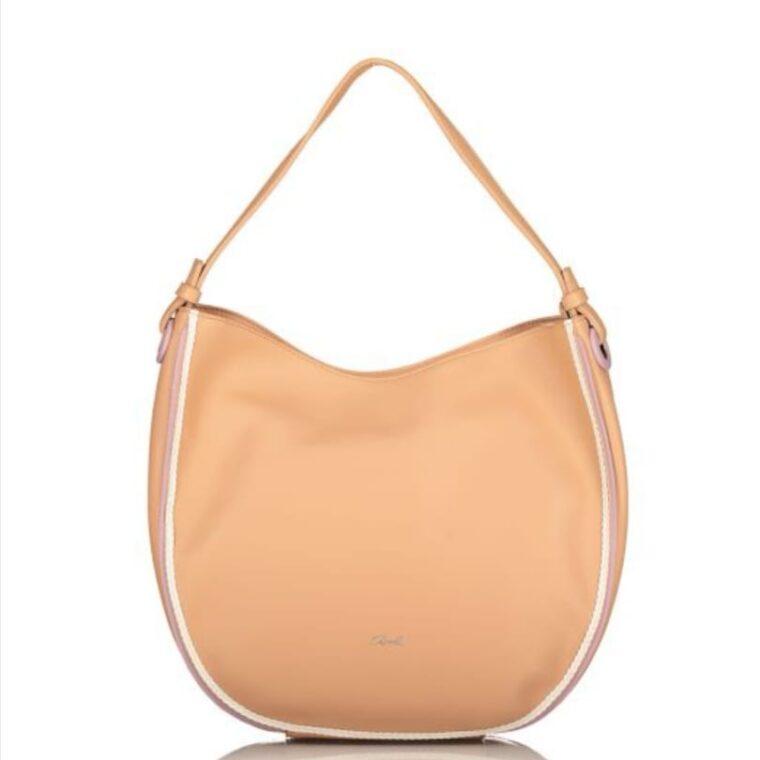 Μπεζ τσάντα χειρός/ώμου axel accesories