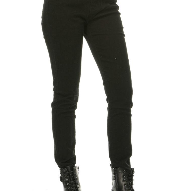 Μαύρο τζιν ελαστικό παντελόνι μεγάλα μεγέθη